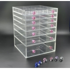 China 7 tiers wholesale acrylic makeup organizer with drawers-Fabrik