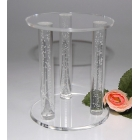 Chine ACRYLIQUE BUBBLE CAGE ROD SÉPARATEUR TOPPER CAKE STAND usine