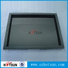 China Acrylic Chanel Jewelry display tray black color factory