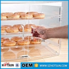 Chine Acrylic bread cake box baker cabinet model acrylic cabinets display box usine