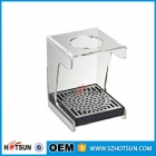 China Acrylic coffee cup storage rack with drainage factory
