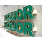 China Acrylic letters for walls factory
