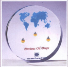 Кита Acrylic oil drop paper weight 1 завод