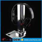 China Beautiful Design Transparent Plexigalss Headset Holder factory