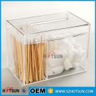 中国Clear Acrylic 4 Compartment Multipurpose Storage Box With Lid工場