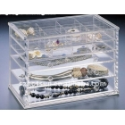 China Custom Clear Acrylic Jewelry Boxes factory