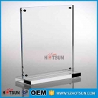 Кита Custom Table Menu Stand Acrylic Magnetic Sign Holder For Restaurant завод