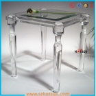 China Custom clear acrylic tables fashionable acrylic furniture factory