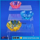 China Customized Stackable U Shape Acrylic Shoe Display Case-Fabrik