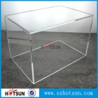 La fábrica de China Customized large acrylic 5-sided box from china supplier