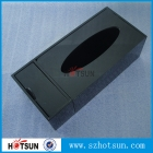 China Desktop Perspex Tissue box Black wholesale factory