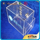 China Donation box|Acrylic donation box factory