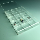 China Exquisite clear acrylic jewelry display tray factory