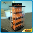 China Factory wholesale clear acrylic rotating watch display case factory