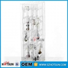 China Folded Clear Acrylic Jewelry Earrings Display Stand factory