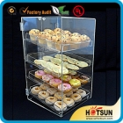 China Four Tiers Acrylic Bakery Display Cabinet factory