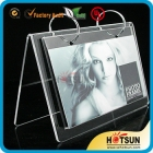 "China High quality acrylic ""A"" shaped calendar display stand. factory"