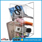 China Hot sale useful acrylic office desk file organizer/perspex file sorter factory