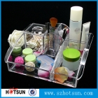 China JY1280 clear plastic makeup storage organizer with department factory