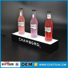 China LED bottle glorifier / acrylic led wine display / light up bottle glorifier factory