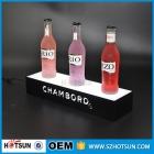 La fábrica de China Botella de LED glorifier / acrílico pantalla LED de vino / enciende para arriba botella glorifier