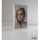 China Latest magnet acrylic plastic photo frame factory