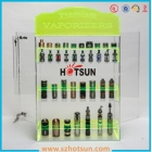 China Neon Green acrylic e liquid display factory