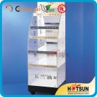 China OEM design stylish Acrylic Cosmetic Display factory
