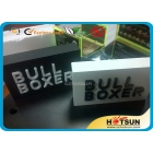 China Plexiglass block with logo printing or engraving factory