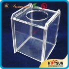 China Promotional Clear Acrylic Tissue Box For Home factory