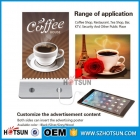 中国To Win Warm Praise From Customers Coffee/Restaurant menu holder power bank工場