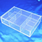 China Top grade classical acrylic jewelry box necklace organizer factory