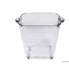 China Transparent acrylic ice bucket factory