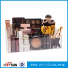 中国Wholesale Cosmetic Plastic Desk Organizer Storage Acrylic Makeup Organizer工場