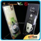 China acrylic L shape menu holder wholesale factory