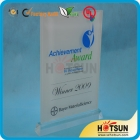 China acrylic award with artwork printing factory