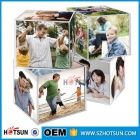 China acrylic cube photo frame clear solid acrylic cube block factory