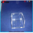 China acrylic customized note paper holder factory