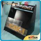 China acrylic e-liquid cigarette display rack factory