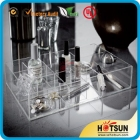 중국 acrylic makeup organizer with compartments 공장