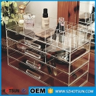 China beautiful design cosmetic storage box wholesale acrylic makeup organizer with drawers-Fabrik
