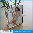 China clear acrylic rectangular vase/aquarium with picture frame factory