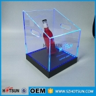 China colorful LED lighting acrylic ice chest perspex chilly bin with remote control factory
