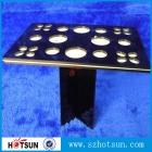 China custom acrylic cosmetic counter display wholesale China factory