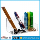 China desk mobile storage cabinet file box,clear acrylic desk organizer,acrylic desk storage box factory