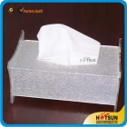 China fashion acrylic tissue box factory
