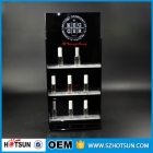 China hanging nail polish shelf display acrylic perfume oil wall organizer factory