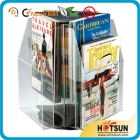 中国high-end rotating magazine display stand工場