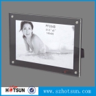Chine hot sexy clear acrylic wall elegant beautiful nude outdoor photo frame usine