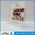China perspex brochure holder magazine display stand factory